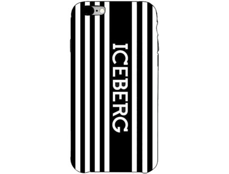 Capa ICEBERG Iceberg Hard Case iPhone 7, 8 Preto — Compatibilidade: iPhone 7, 8