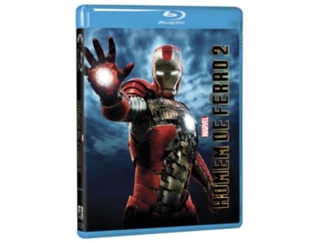 Blu-Ray Homem de Ferro 2 (Disney) — De: Jon Favreau | Com: Robert Downey Jr, Gwyneth Paltrow, Jeff Bridges