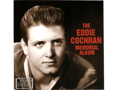 CD Eddie Cochran - The Eddie Cochran Memorial Album