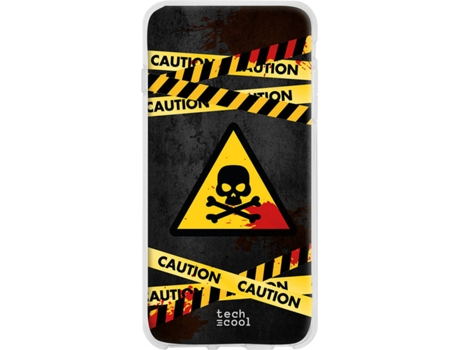 Capa Huawei Mate 30 Pro TECHCOOL Caution Multicor