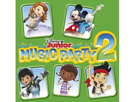 CD Disney Júnior - Music Party 2 — Infantil