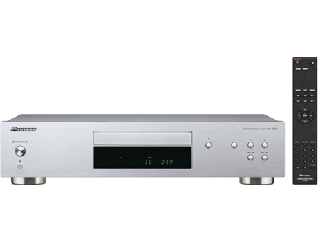 Leitor de CD PIONEER PD-10AE-S — Formatos: CD/CD-R/CD-RW/MP3 (CD-R/CD-RW)