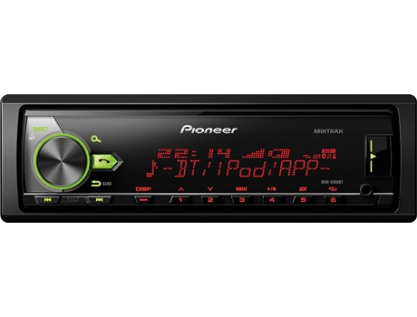 Autorrádio PIONEER MVH-X580BT — 50 W / MP3, USB, Bluetooth