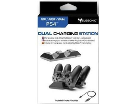 Dual Charging Station PS4 SUBSONIC