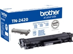 Toner BROTHER Tn2420 3000 Pág Preto — Aprox: 30000 Pág.
