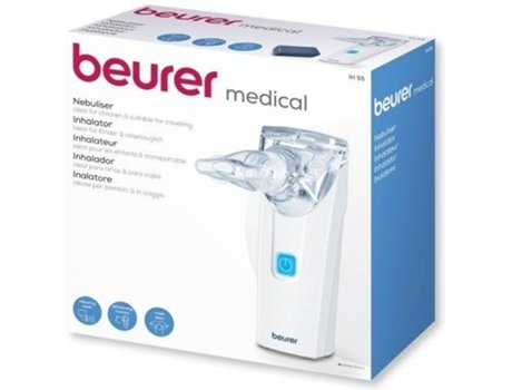 Nebulizador BEURER IH55 — 0,25 ml/min | 0.25-0.5 bar