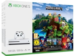 Consola XBOX One S 500GB + Minecraft Story Mode — 500GB