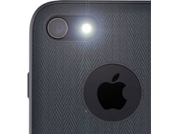 Capa MOSHI Vesta Bahama iPhone 7, 8 Preto — Compatibilidade: iPhone 7, 8