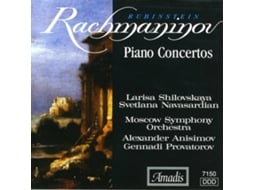 CD Rachmaninov - Piano Concerto No. 2' — Clássica
