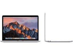 MacBook Pro 13'' APPLE MPXR2 Prateado — i7 dual-core / 8GB / 128GB SSD