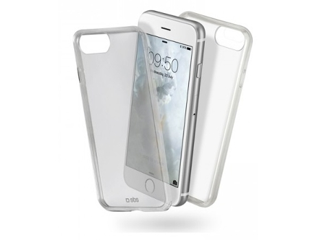Capa SBS Clear Fit iPhone 7, 8 Transparente — Compatibilidade: iPhone 7, 8