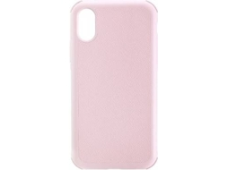 Capa JUST MOBILE Quattro Air iPhone X, XS Rosa — Compatibilidade: iPhone X, XS