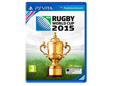Jogo PS Vita Rugby World Cup 2015