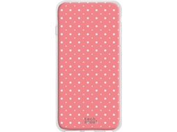 "Capa Alcatel POP 3 5.0"" TECHCOOL Lunares Rosa"