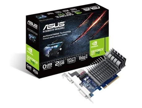 Placa Gráfica ASUS NVIDIA GT710 2GB DDR3