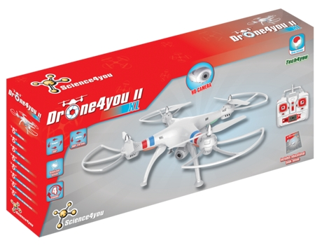 Drone DRONE4YOU II XL — Altitude: 100 m