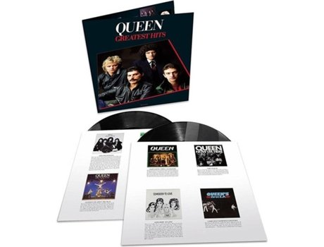 LP Queen - Greatest Hits — Pop-Rock
