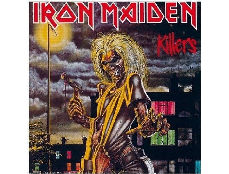 CD Iron Maiden - Killers — Metal/Hard