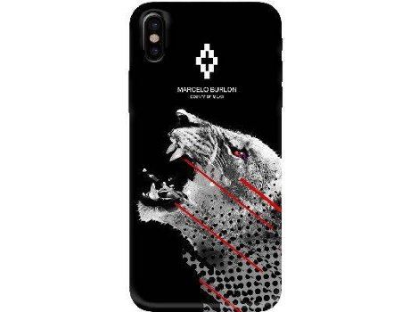 Capa MARCELO BURLON 3D Sham iPhone X — Compatibilidade: iPhone X