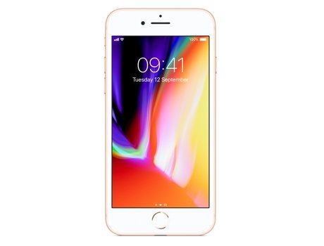 Smartphone APPLE iPhone 8 64GB Dourado — iOS 11 / 4.7'' / A11