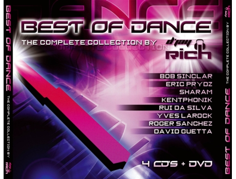 CD/DVD Vários-Best Of Dance - The Complete Collection By D'Jay Rich — House / Electrónica