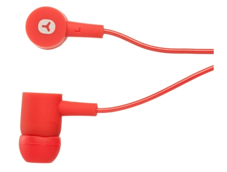 Auricular In-ear GOODIS Rubber candy red — 16 ohms | 100 db ± 3 db