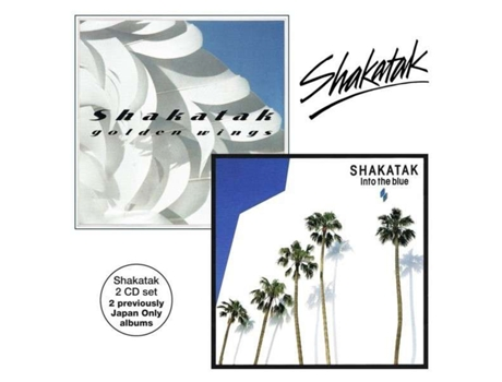 CD Shakatak - Golden Wings / Into The Blue