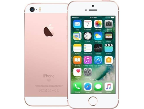 Smartphone APPLE iPhone SE 32GB Rosa Dourado — iOS 10 / 4'' / A9
