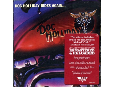 CD Doc Holliday  - Doc Holliday Rides Again...