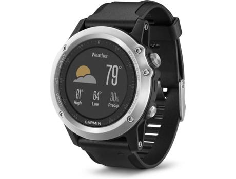 1cd4bbbe929 Relógio Desportivo GARMIN Fénix 3 HR (Bluetooth - Modo GPS  até 20 horas de