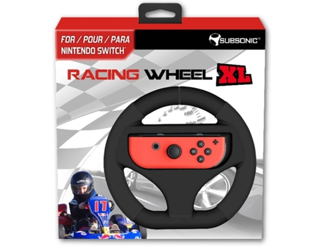 Volante RACING WHELL XL para Nintendo Switch — Nintendo Switch