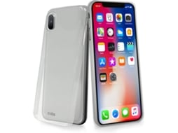Capa SBS Ultrafina iPhone X Transparente — Compatibilidade: iPhone X