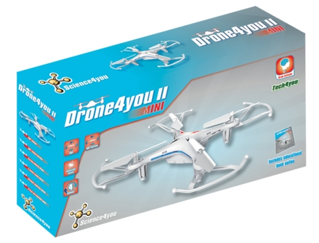Mini Drone Drone4YOU II MINI — Alcance: 100 m