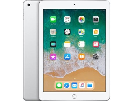 iPad 9.7'' APPLE Wi-Fi 32 GB Silver — 9.7'' | 32 GB | iOS 10