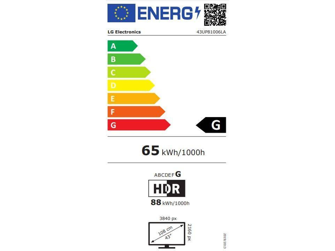 TV LG 43UP81006 (LED - 43'' - 109 cm - 4K Ultra HD - Smart TV)   Worten.pt