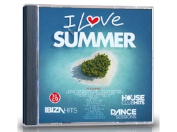 CD I Love Summer 2013 — House / Electrónica