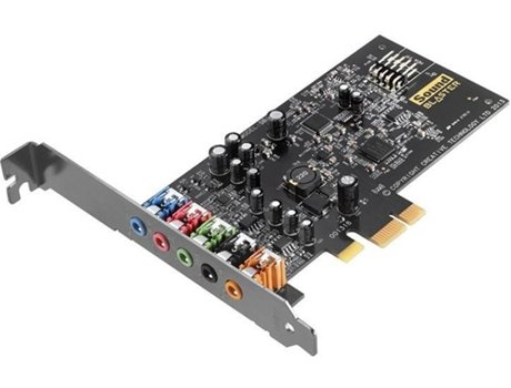Placa de som CREATIVE SOUND BLASTER AUDIGY FX-PCI — PCI-Express