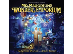 CD Desplat,Alexandre/Zigman,Aaron - Mr.Magoriums Wunderladen (1CD)
