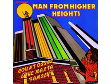Vinil Count Ossie & The Rasta Family - Man From Higher Heights