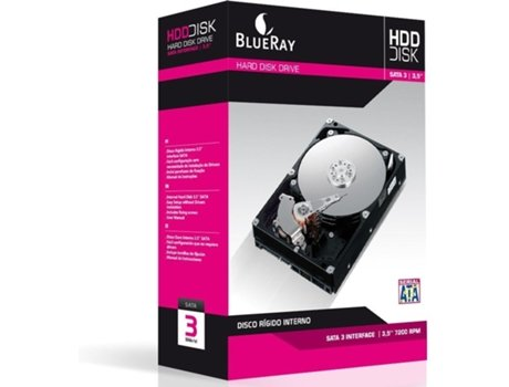Disco Interno 3.5'' BLUERAY 500GB — 3.5'' / 500 GB / SATA3 6 Gb/s