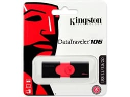 Pen USB KINGSTON DataTraveler 106 16GB — 16 GB | USB 3.0