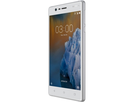 "Smartphone Nokia 3 16GB Branco — Android / 5"" / Quad core 1.3Ghz"
