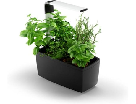 Vaso Inteligente TREGREN Kitchen Garden T6 Preto (Interior - Bluetooth) — Interior - Bluetooth