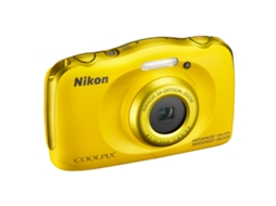 Máquina Fotográfica NIKON  Coolpix W100 Yellow — 13 MP