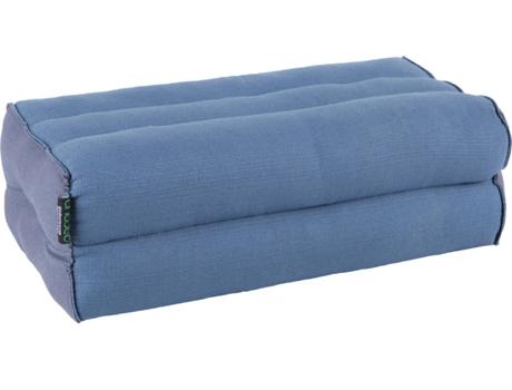 Almofada Ioga e Meditação ANADEO Standard Fibra 100% Natural de Alta Densidade Azul Cinza - X1