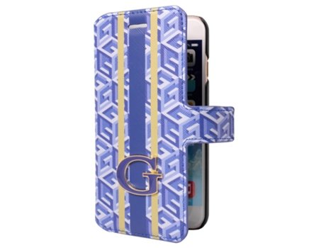 Capa GUESS G-Cube iPhone 6, 6s Azul — Compatibilidade: iPhone 6, 6s
