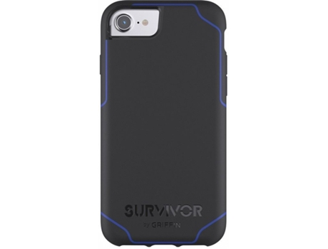 Capa GRIFFIN Journey iPhone 6/7 Preto e Azul — Compatibilidade: iPhone 6/7