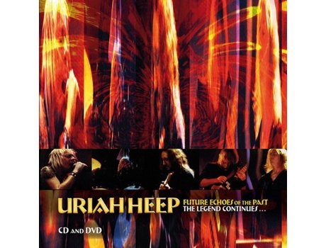 CD Uriah Heep - Future Echoes Of The Past - The Legend Continues...