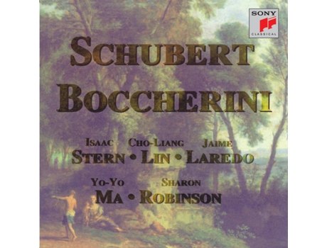 CD Yo Yo Ma -Schubert, Boccherini: String — Clássica