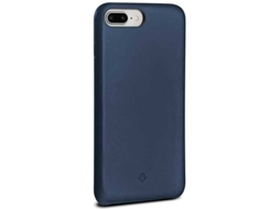 Capa TWELVE SOUTH Leather iPhone 6 Plus, 6s Plus, 7 Plus, 8 Plus Azul — Compatibilidade: iPhone 6 Plus, 6s Plus, 7 Plus, 8 Plus